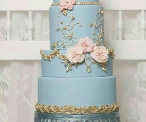 cake, nice, and party image