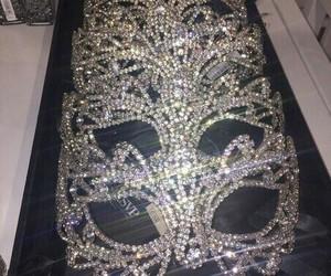 mask, luxury, and diamond image