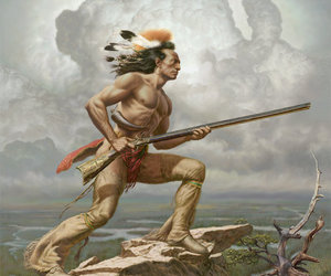 forest, Mohawk, and guardian image