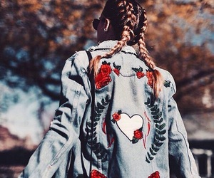 denim, fashion, and style image