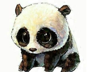 panda and art image