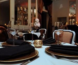 luxury, restaurant, and dinner image
