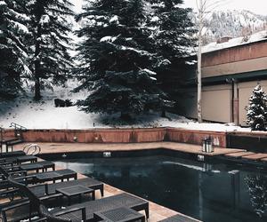 pretty, smore, and snow image