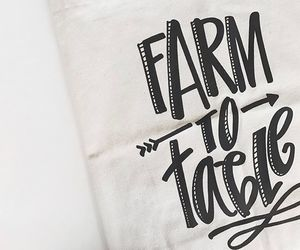 bag, black and white, and farm image