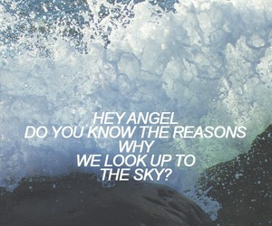sky, hey angel, and one direction image