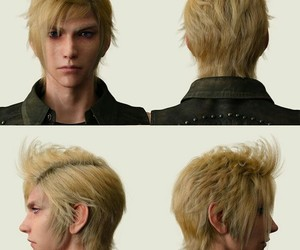 boy, final fantasy, and game image