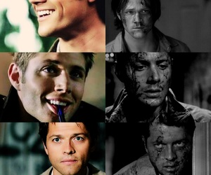angel, brothers, and dean image
