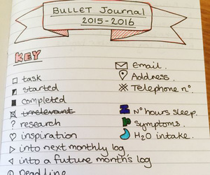 journal and key image