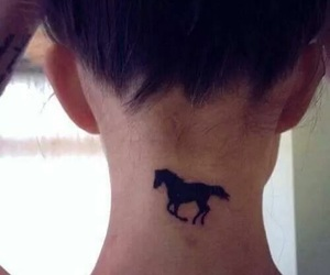 horse and tattoo image