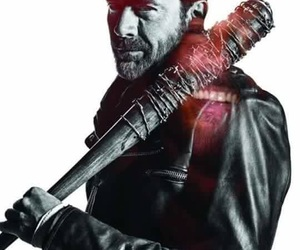 negan, twd, and the walking dead image