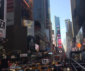 new york city, nyc, and times square image