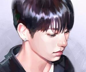 fanart, bts, and jungkook image