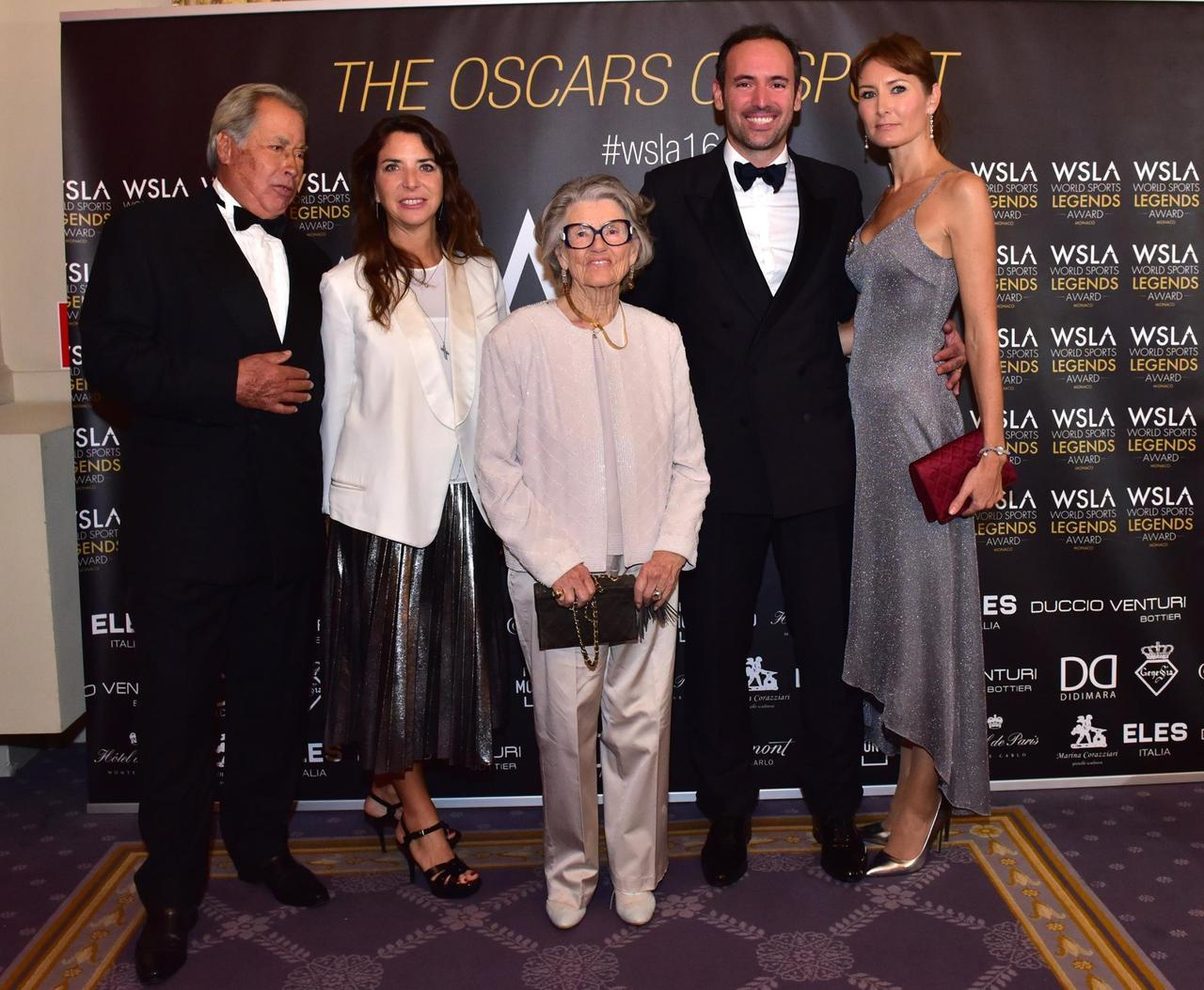 The Noghes Family On The Red Carpet Of The 1st Monaco