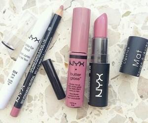 NYX, makeup, and lipstick image