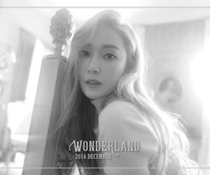 black and white, jessica, and kpop image