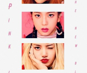 kpop, pink, and white image