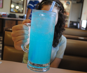 drink, blue, and cool image