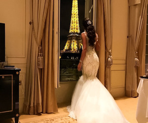 dress, fashion, and paris image