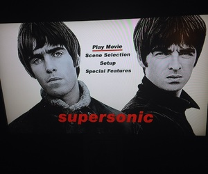 noel gallagher, supersonic, and liam gallagher image