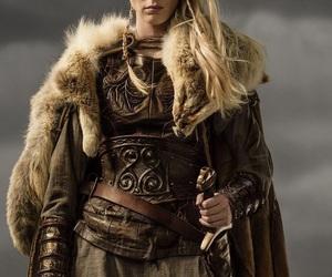 vikings, porunn, and shieldmaiden image