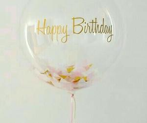 birthday, balloon, and happy image