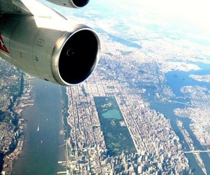 adventure, air, and city image