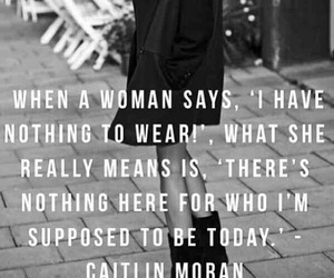 woman, quote, and fashion image