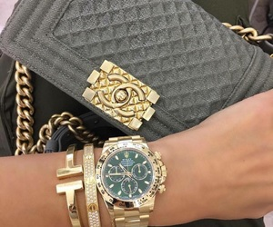 chanel, fashion, and rolex image