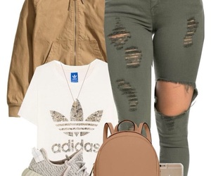 outfit and adidas image