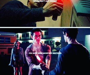 teen wolf, sciles, and brothers image