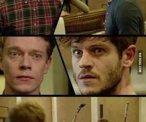 game of thrones, iwan rheon, and alfie allen image