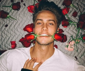 rose, boy+, and crush+ image