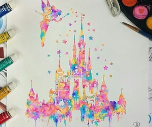 disney, art, and colors image