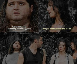 funny, lost, and tv show image
