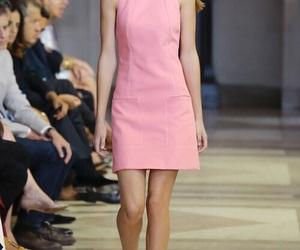 Carolina Herrera, fashion, and dress image