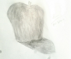 apple, art, and FRUiTS image