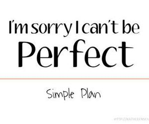 quote, simple plan, and perfect image