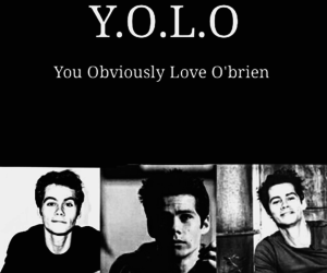 teen wolf, dylan o'brien, and dylanobrien image