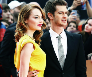 actors, couples, and emma stone image