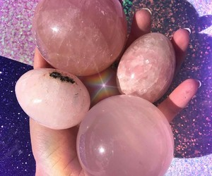 pink and stone image