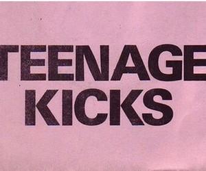 pink, teenage, and teenage kicks image