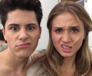 faking it, amy, and shane image