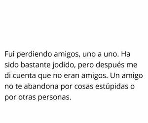 amigo, amor, and frases image