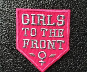 aesthetic, feminism, and patch image