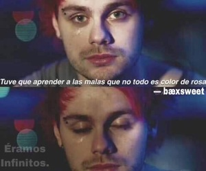 5sos, frases, and michael clifford image