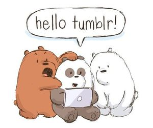 we bare bears, grizzly, and panda image