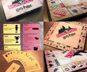 amor, harrypotter, and monopoly image