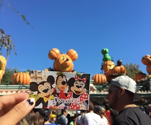 california, mickey mouse, and disneyland image