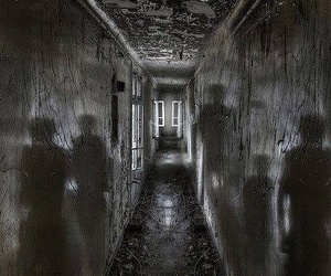 dark, ghost, and scary image