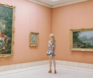 art, aesthetic, and peach image